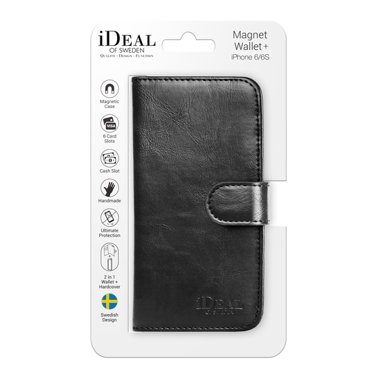 iDeal of Sweden - Magnet Wallet+ puzdro pre Apple iPhone 6S 6 Plus ... 88aa62a6d4b