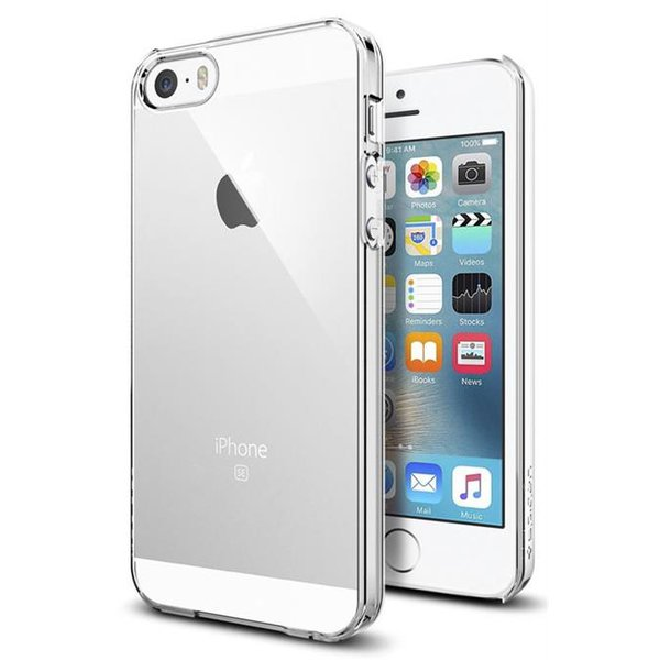 Spigen Thin Fit pre Apple iPhone 5/5S/SE Crystal Clear