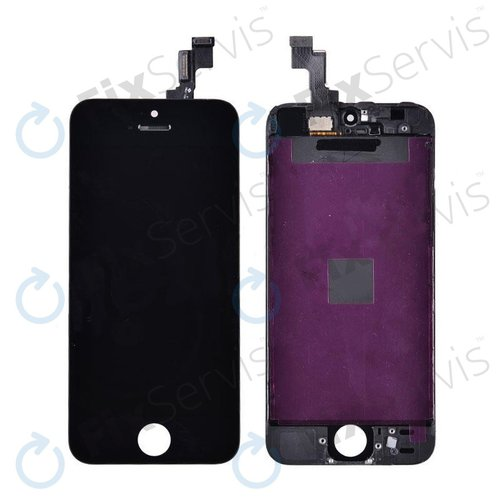 Apple iPhone SE - LCD Displej + Dotykové Sklo + Rám (Čierna) OEM ... a76edd27fd9