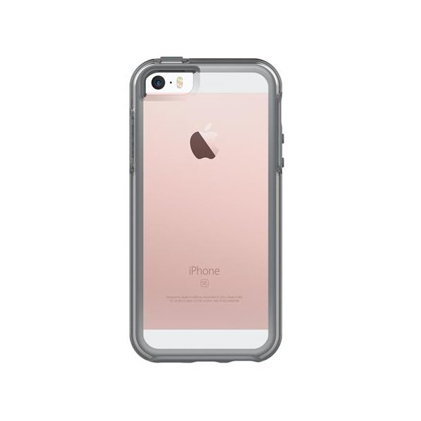 OtterBox - Symmetry clear pre Apple iPhone SE/5S/5, sivá