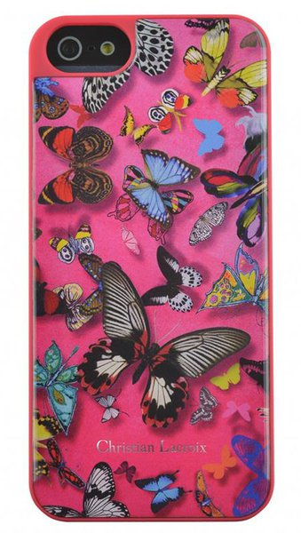 Christian Lacroix - Butterfly puzdro pre Apple iPhone 6S/6, ružová