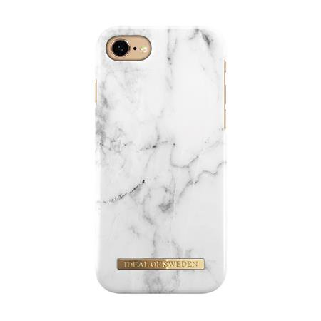 iDeal of Sweden - Puzdro Fashion pre Apple iPhone SE 2020/8/7/6s/6, biely mramor