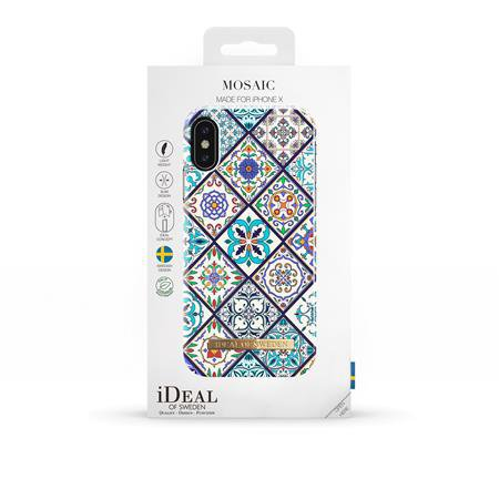 iDeal of Sweden - Fashion puzdro pre Apple iPhone X/XS, mozaika