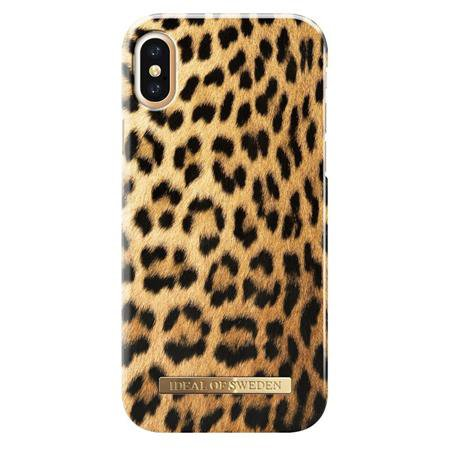 iDeal of Sweden - Fashion puzdro pre Apple iPhone X/XS, leopardí motív