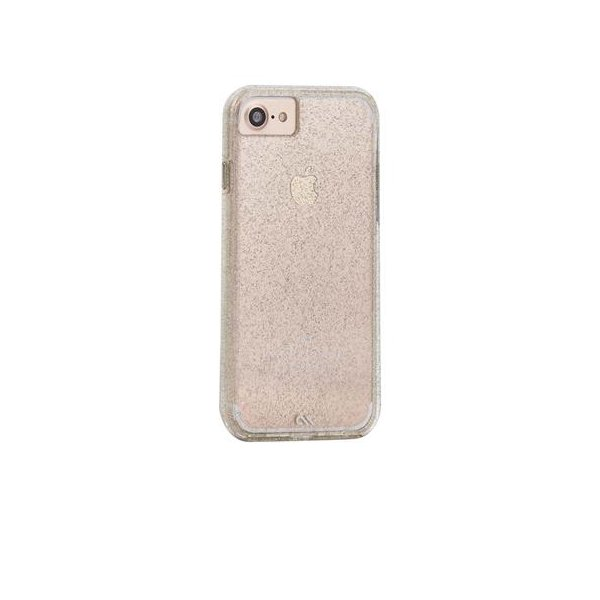 Case-Mate - Puzdro Sheer Glam Apple iPhone SE 2020/8/7/6s/6, champagne