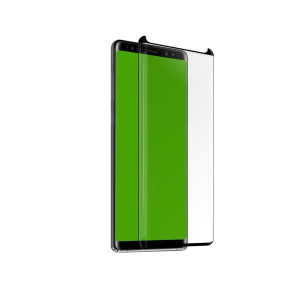 SBS - Tvrdené sklo 4D Full Glass case friendly pre Samsung Galaxy Note 9, čierna