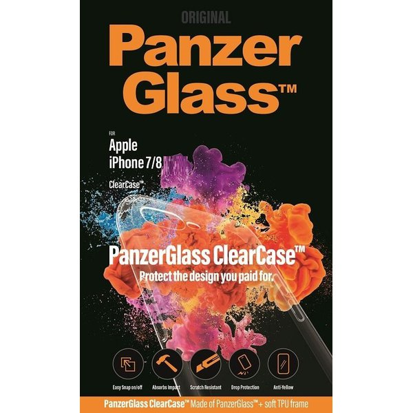 PanzerGlass - ClearCase Puzdro pre iPhone SE 2020/8/7, transparentná