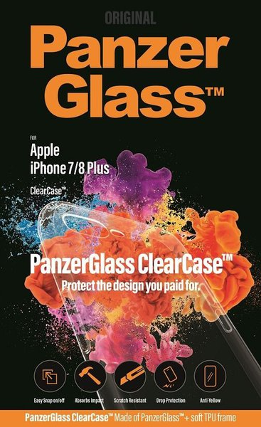 PanzerGlass - ClearCase Puzdro pre iPhone 7/8+, transparentná