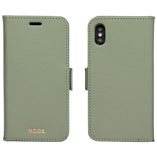 MODE - Puzdro New York pre iPhone X/Xs, olive green