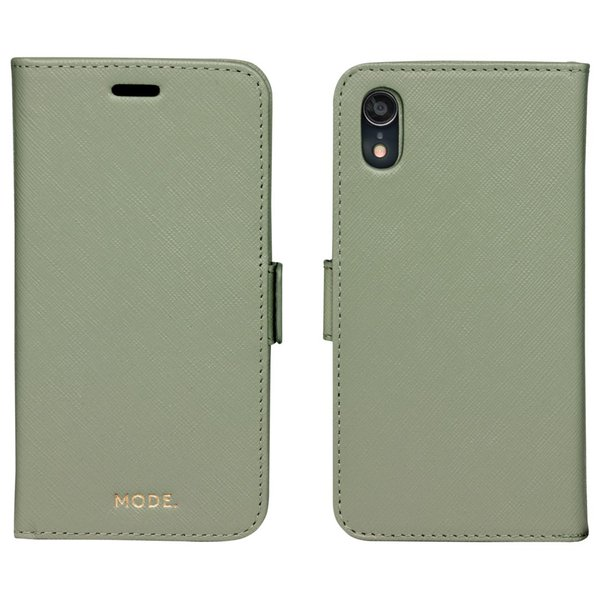 MODE - Puzdro New York pre iPhone XR, olive green