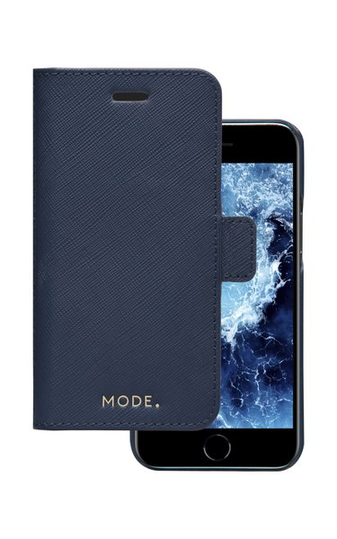MODE - Puzdro New York pre iPhone SE 2020/8/7, ocean blue