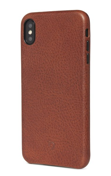 Decoded Leather Case kožené puzdro pre iPhone XS Max, hnedé