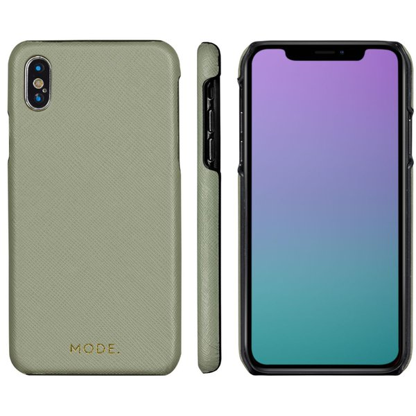 MODE - Puzdro London pre iPhone X/XS, olive green